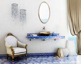 Casas de banho mediterrânicas por Giuseppe Balestri
