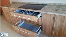 modern Kitchen by Almacén de Carpintería Gómez