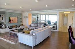 BAGO MİMARLIK  – EBG Evi: modern tarz Oturma Odası