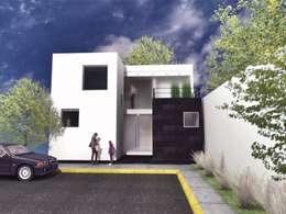 منازل تنفيذ CoRREA Arquitectos