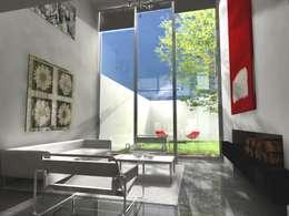 CoRREA Arquitectos의  거실