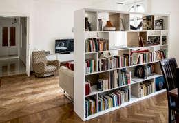 minimalistic Living room تنفيذ M N A - Matteo Negrin