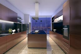 مطبخ تنفيذ Chaney Architects