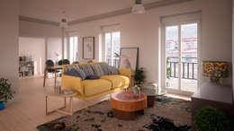 Salas de estilo escandinavo por ERC
