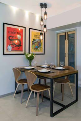 Residential - Lower Parel: modern Dining room by Nitido Interior design