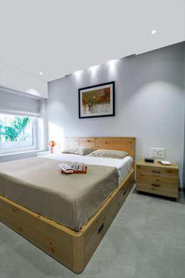 Dormitorios de estilo  por Nitido Interior design
