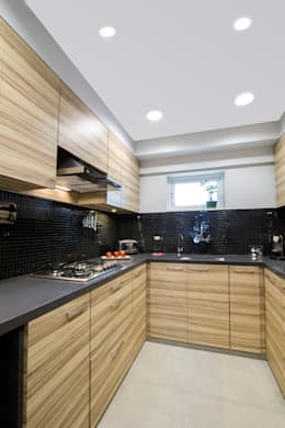 Residential - Lower Parel: modern Kitchen by Nitido Interior design