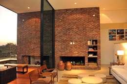 Salas de estilo moderno por STUDIO LUIZ VENEZIANO