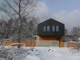 Dom jednorodzinny w Tarnowskich Górach: styl nowoczesne, w kategorii Domy zaprojektowany przez seweryn pracownia