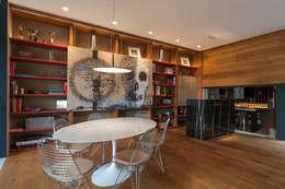 Comedor de estilo  por MAAD arquitectura y diseño