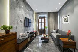 Nitido Interior design: modern tarz Oturma Odası