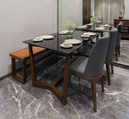 Nitido Interior design: modern tarz Yemek Odası