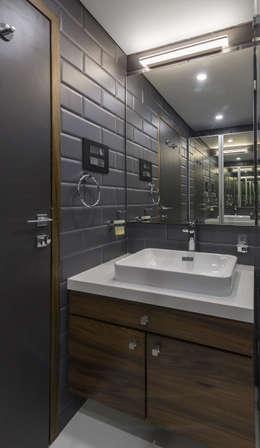 Nitido Interior design: modern tarz Banyo