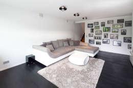 modern Living room by Schiller Architektur BDA