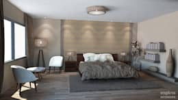 Dormitorios de estilo moderno por Inspiria Interiors