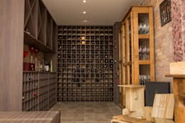 eclectic Wine cellar by Marcelo Lopes Arquitetura