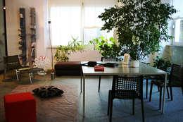 Projekty,  Zieleń wewnątrz zaprojektowane przez Arch. Vittoria Ribighini