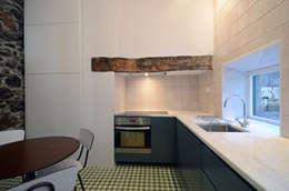 Projekty,  Kuchnia zaprojektowane przez Studio Dois