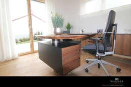 modern Study/office by Wagner Möbel Manufaktur