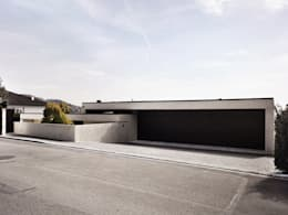 modern Garage/shed by meier architekten