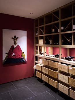 modern Wine cellar by meier architekten