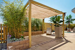 Hiên, sân thượng by Bambuskontor