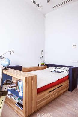 WNĘTRZA DOMU WE LWOWIE: styl , w kategorii Pokój dziecięcy zaprojektowany przez GISMOARCHITECTS