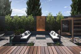 Espacio Lounge: Terrazas de estilo  por TDC - Oficina de arquitectura