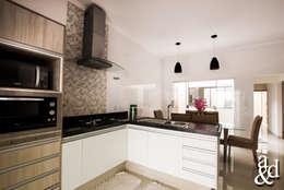 مطبخ تنفيذ Arch & Design Studio