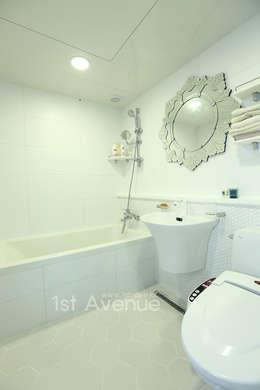 톡쏘는 청량감이 있는 안산 푸르지오: 퍼스트애비뉴의  화장실