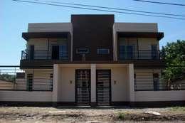 Viviendas  - Duplex: Casas de estilo minimalista por Alejandro Acevedo - Arquitectura