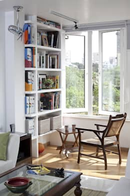 Residential - Gamadia Road:  Terrace by Nitido Interior design