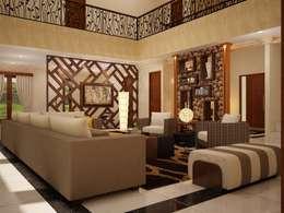 EMG Mimarlik Muhendislik Proje Çanakkale 0 286 222 01 77 – Photo2: rustik tarz tarz Oturma Odası