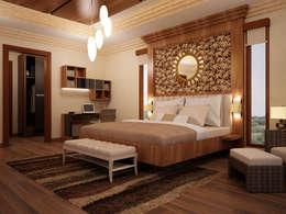 EMG Mimarlik Muhendislik Proje Çanakkale 0 286 222 01 77 – Photo4: rustik tarz tarz Yatak Odası