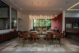modern Dining room by Alice Martins Flávio Butti