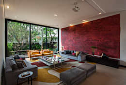 Salas de estilo moderno por Alice Martins Flávio Butti