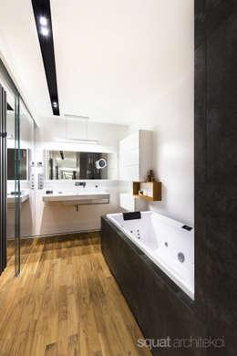 modern Bathroom by SQUAT ARCHITEKCI