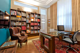 Residência  Vista Alegre  -Curitiba-PR: Escritórios  por Karin Brenner Arquitetura e Engenharia