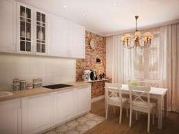 Cocinas de estilo minimalista por дизайн-бюро ARTTUNDRA