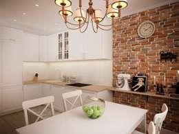 Интерьер кухни г. Одинцово: Кухни в . Автор – дизайн-бюро ARTTUNDRA