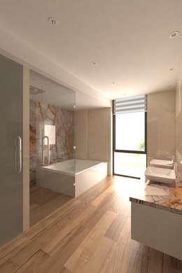 modern Bathroom by Area5 arquitectura SAS