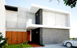 Casa Real del Bosque : Casas de estilo moderno por BCA taller de diseño