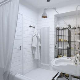 Salle de bains de style  par 3D GROUP