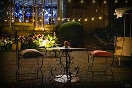 Mix Outdoors: Jardines de estilo industrial por Algo de Mi