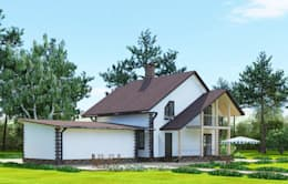 Projekty, eklektyczne Domy zaprojektowane przez Садовникова Наталья Евгеньевна