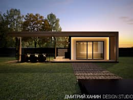 10 fachadas modernas cubo cu l te gusta m s for Casa cubo minimalista