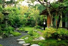 สวน by Enatsu Garden Architect / 江夏庭苑事務所