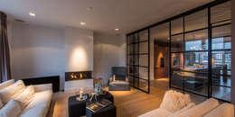 Projekty,  Salon zaprojektowane przez DENOLDERVLEUGELS Architects & Associates