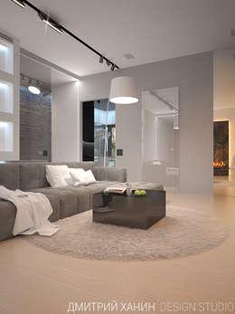 minimalistic Living room by Dmitriy Khanin