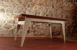 Guesdy: Salle à manger de style de style Scandinave par Olivier Corbin Design